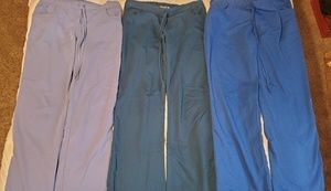 Grey's Anatomy Pants - 3 pairs GUC Grey's Anatomy Scrub Bottoms